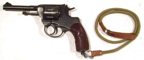 Revolver NAGANT, modelo 1922, calibre 7,62 Nagant, nº G041-2479