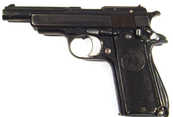 Pistola STAR, modelo IN, calibre 9 corto, nº266985-2535