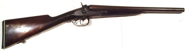Escopeta J. PURDEY AND SONS, modelo THUMBOLE UNDERLEVER, calibre 12, nº 10174-0