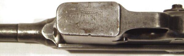Pistola MAUSER 1896, modelo 1932, tipo 712, calibre 7,63x25, nº 21264-2619