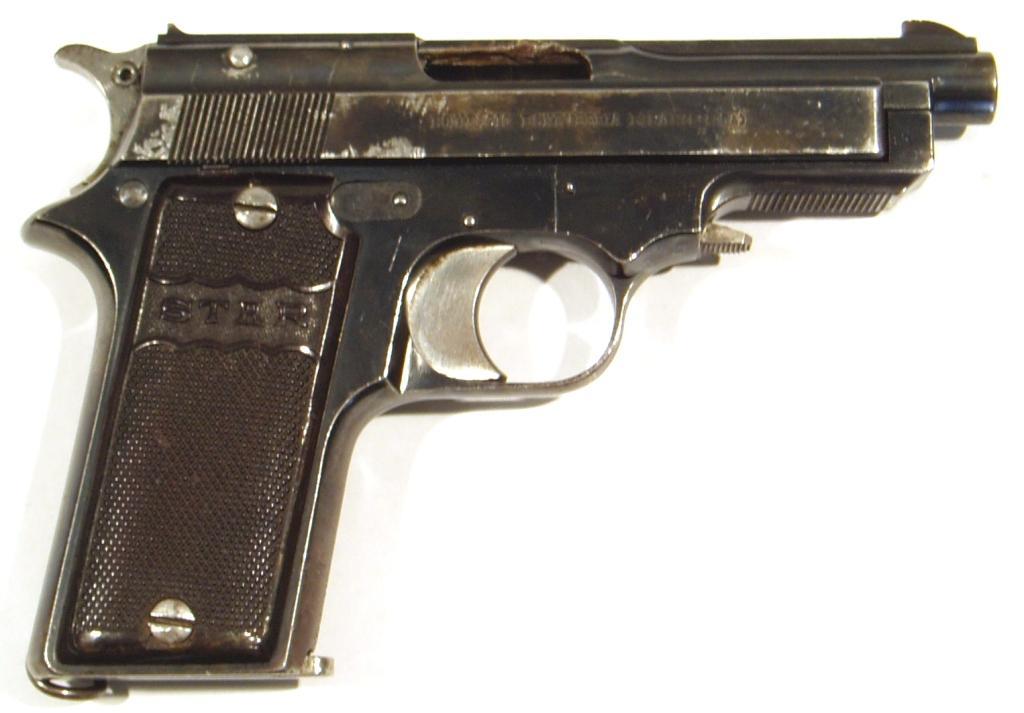 Pistola STAR, modelo 1919 SINDICALISTA, calibre 9 corto, nº 121171-0