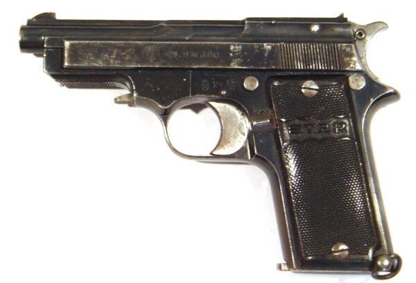 Pistola STAR, modelo 1919 SINDICALISTA, calibre 9 corto, nº 121171-2536