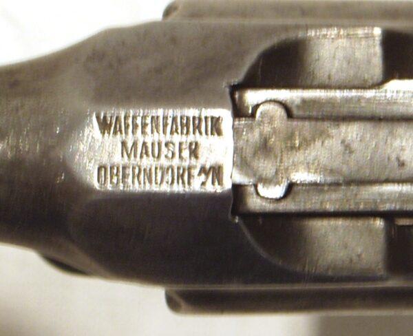 Pistola MAUSER 1896, modelo 1932, tipo 712, calibre 7,63x25, nº 21264-2622