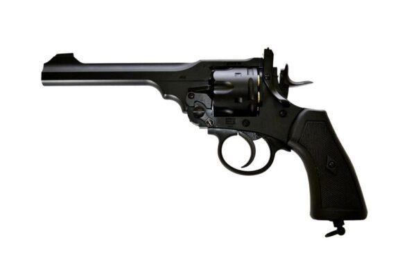 Revolver WEBLEY, modelo MARK VI, calibre 4,5BB-0