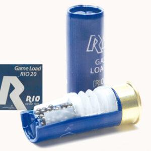 Cartuchos MAXAM, modelo GAME LOAD (RIO 20), calibre 12/70/12, perdidon 6, 7,8-0