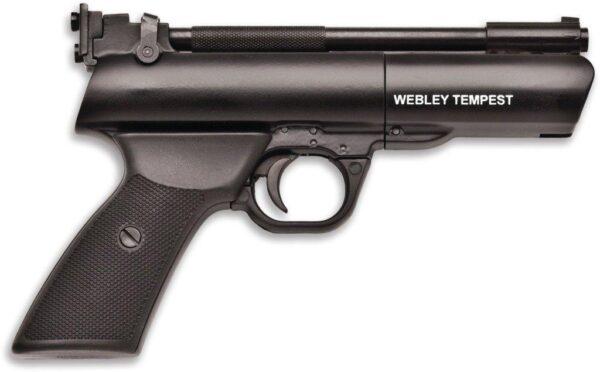 Pistola WEBLEY, modelo TEMPEST, calibre 4,5 y 5,5-2756