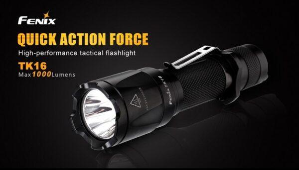 Linterna FENIX, modelo TK16, 1000 lumens-2979