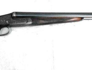 Escopeta V. SARASQUETA, modelo DH-E, calibre 12, nº 80212-0