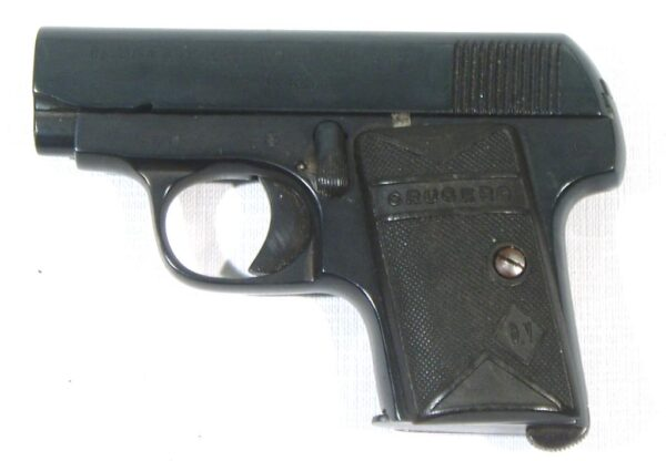 Pistola CRUCERO, modelo BROWNING, calibre 6,35, nº 78-3330