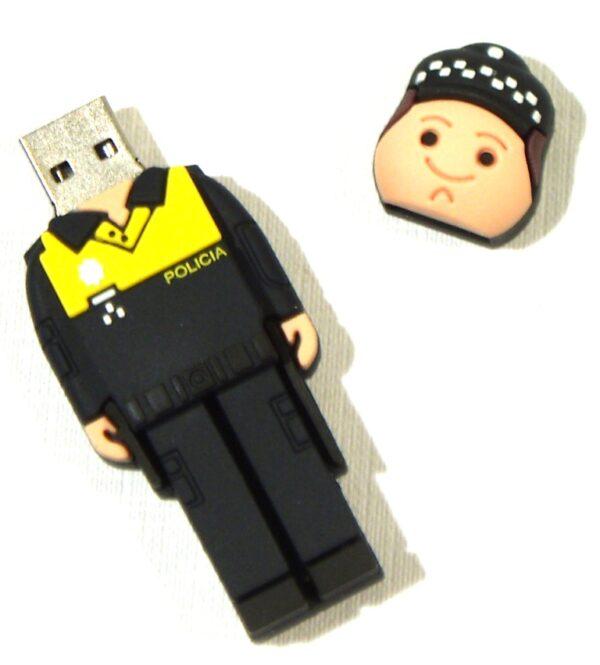 PENDRIVE, USB, 8GB, POLICIA LOCAL-3320