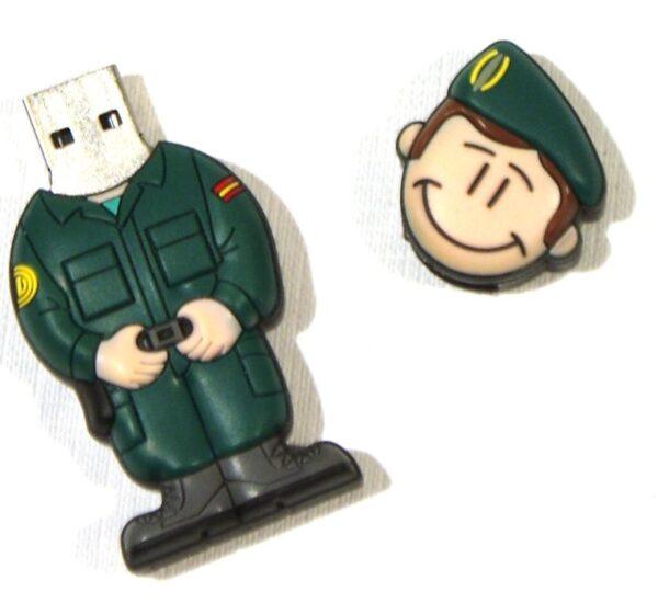 PENDRIVE, USB, 8GB, GUARDIA CIVIL FAENA-3329