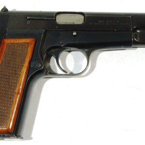 "Pistola FN HERSTAL, modelo GP ""HI-POWER"", calibre 9 Pb., nº 245PY09091-0"