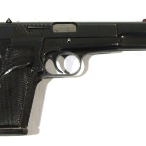 Pistola FN HERSTAL, modelo GP35, HIGH POWER, calibre 9 Pb., nº 215RP12025-0