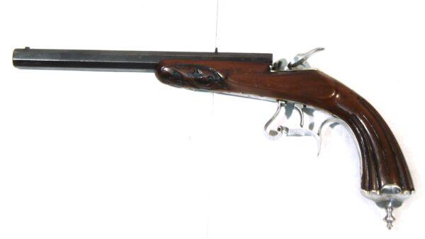 Pistola original, SIN MARCA, modelo FLOBERT, calibre 6 mm. Flobert, nº 650-3514