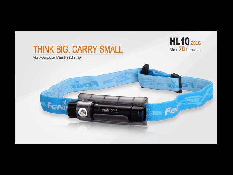 Frontal FENIX, modelo HL10, 70 lumnenes, 3 modos.-0