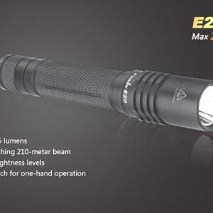 Linterna FENIX, modelo E20, 265 lumenes, 4 modos-0