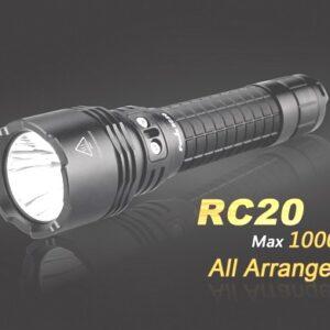 Linternas FENIX, modelo RC20, recargable,1000 lumenes, 4 modos mas estrobo-0