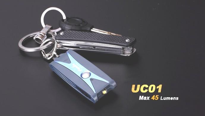 Linterna FENIX, modelo UC01, 45 lumenes, 3 modos.-0