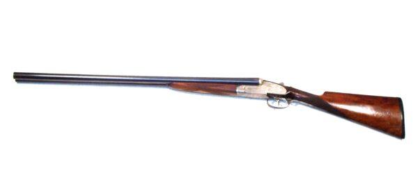 Escopeta V. SARASQUETA, modelo HISPANIA CE, calibre 12, nº 170413-3800