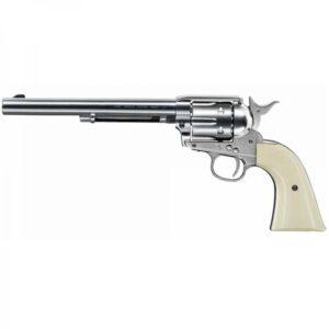 Revolver COLT, modelo PEACEMAKER NIQUEL, calibre 4,5 balines-0