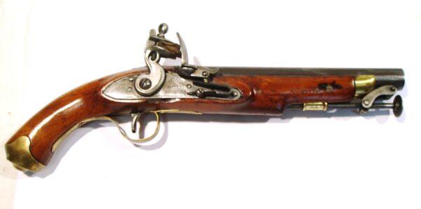 Pistola HOLLIS BROTHERS, modelo de Marina, calibre 18, s/n.-0