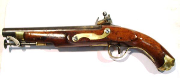 Pistola HOLLIS BROTHERS, modelo de Marina, calibre 18, s/n.-4078