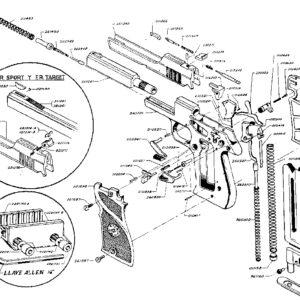 Recambios pistola STAR, modelo FM, FR Sport y FR Target