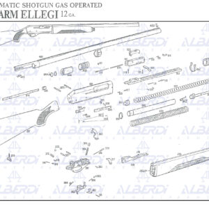 Piezas recambio para escopeta FABARM modelo ELLEGI