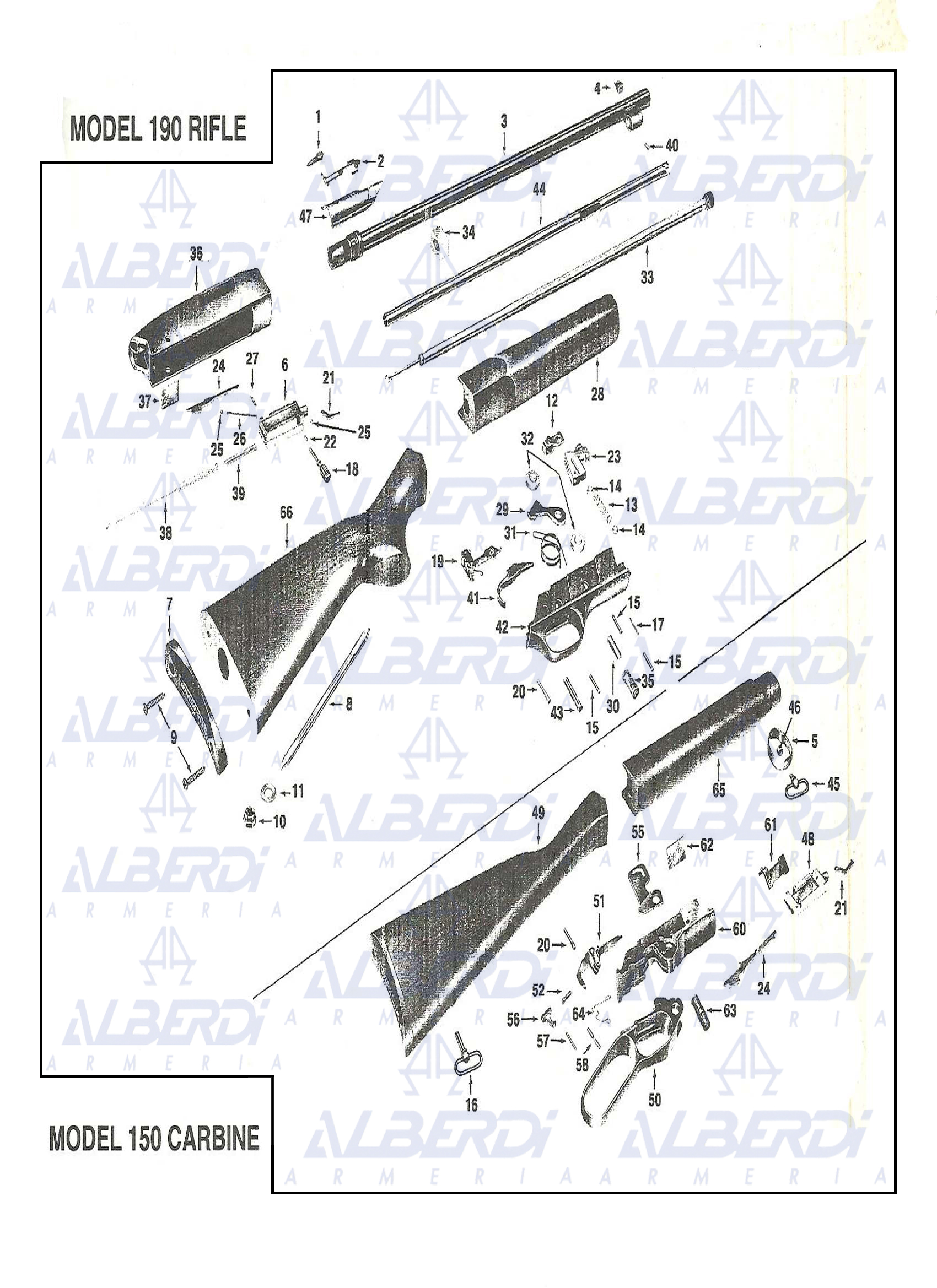 Carabina Winchester modelo 150-250