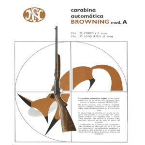 Piezas de recambio para carabina FN BROWNING