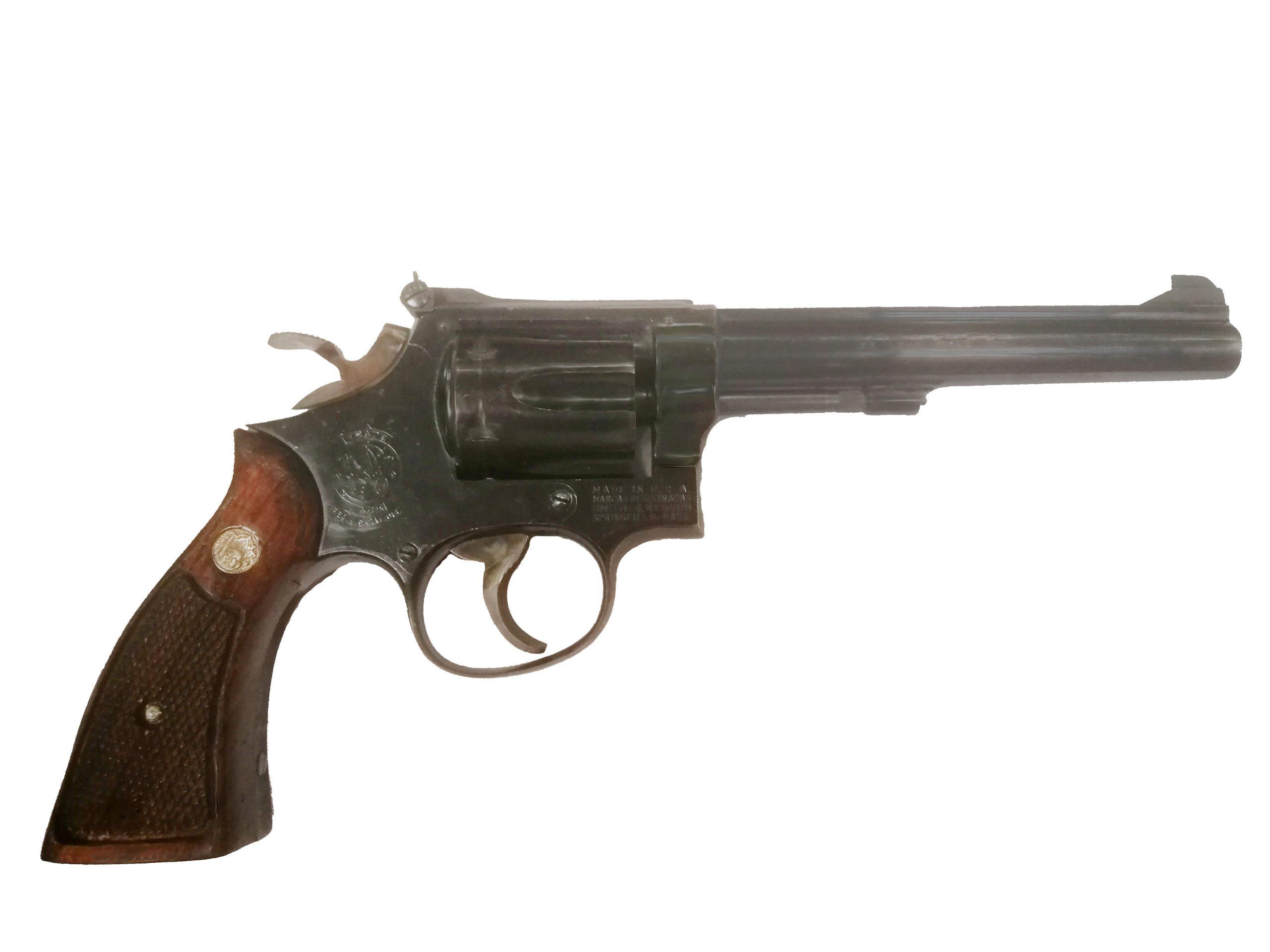 Revoler Smith Wesson modelo 17-2 K22 Masterpiece