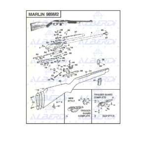 Marlin 989M2 agua