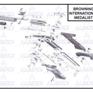Piezas de recambio pistola BROWNING modelo International/Medalist