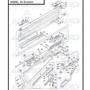 Piezas de recambio rifle WINCHESTER modelo 94 STANDARD