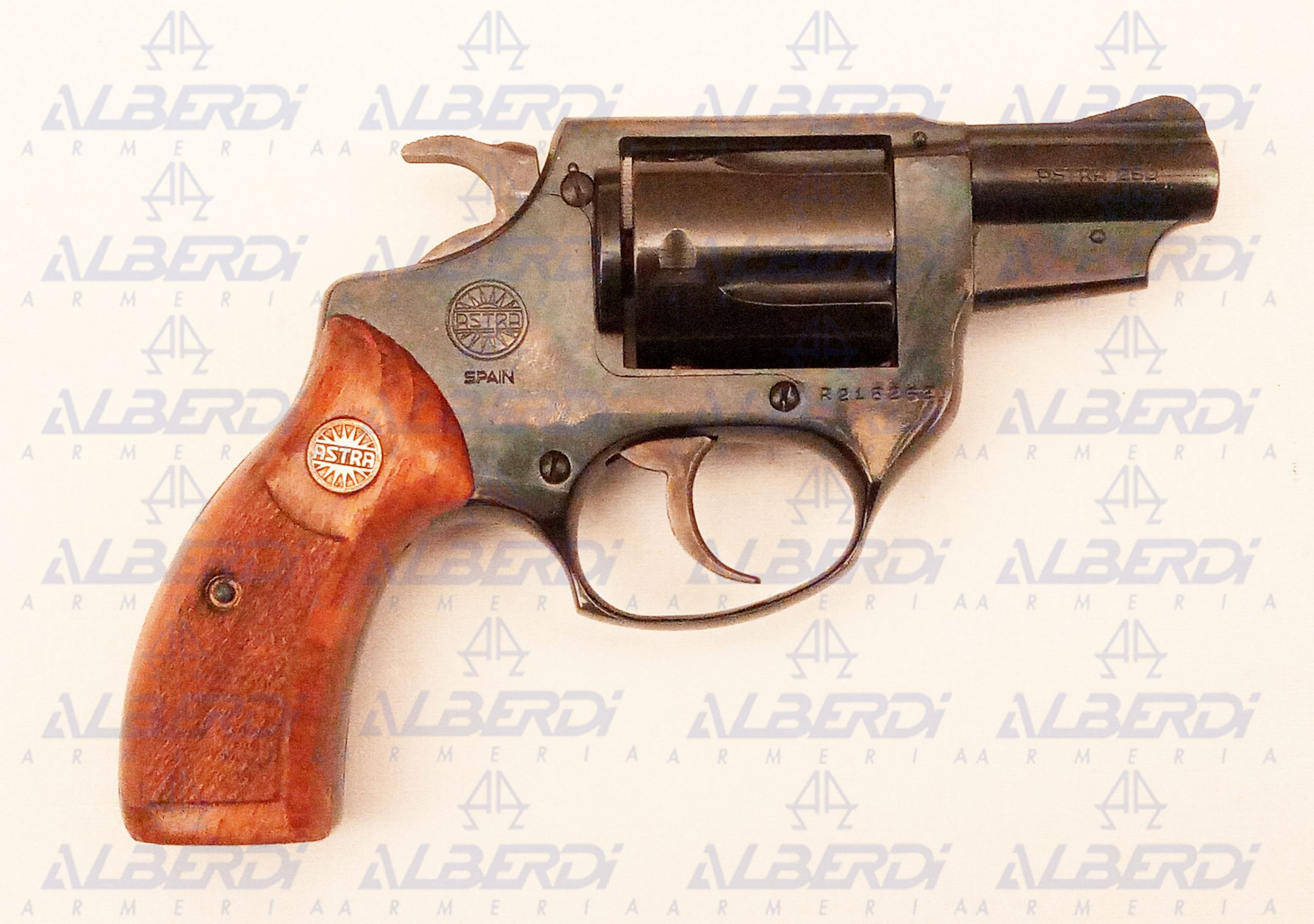 ASTRA Revolver Mod 250 cal 38 Sp nº R218262-1 B Agua