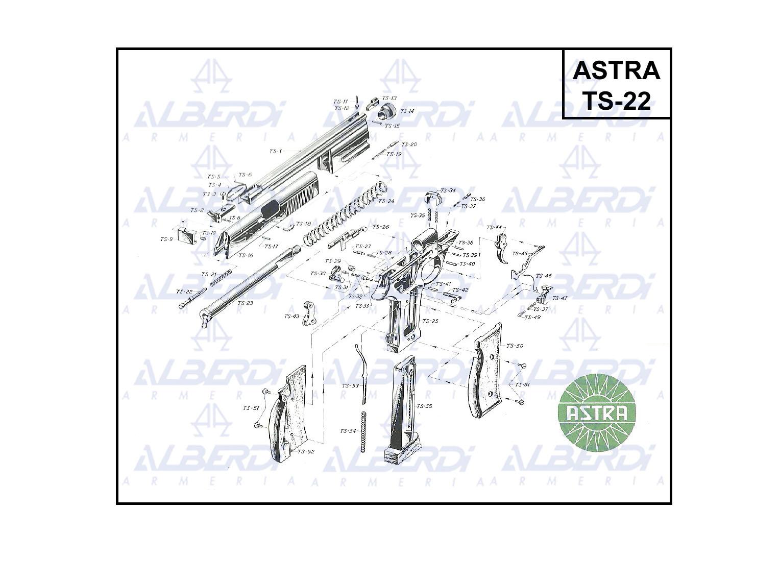 Astra mod TS-22 001 Agua
