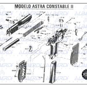 Astra modelo Constable-Sport II 001 Agua