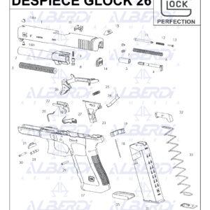 hGlock modelo 26 001 Agua 2